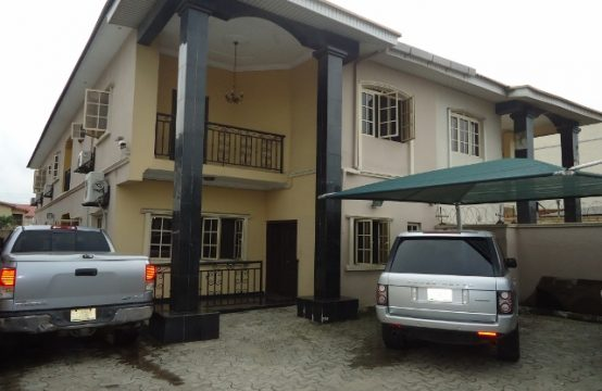 Massive 4-Bedroom Semi-Detached Duplex