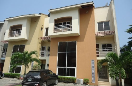 4 Bedroom Terraced Duplex in a Serviced Residential Court