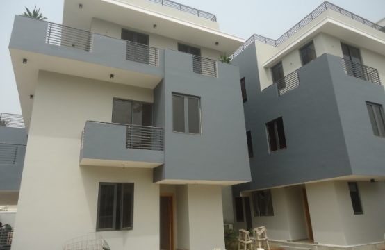 New 4 Bedroom Terraced Duplex with Excellent Facilities