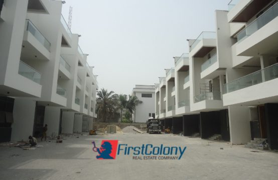 Newly Built 4 Bedroom Terraced Duplex with Great Facilities