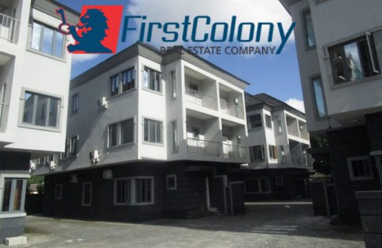 Luxury and Fully Serviced 4 bedroom Semi Detached Duplex