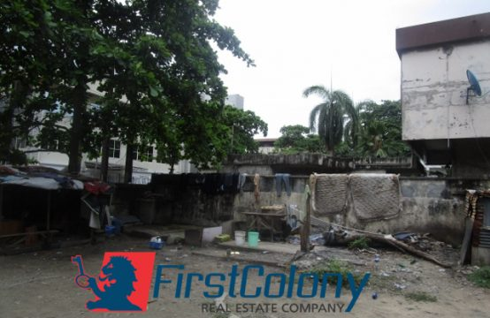 1260sqm Commercial Land with dilapidated Buildings