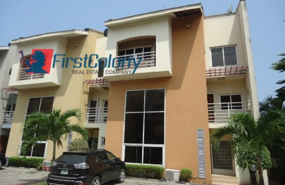 Luxury 4 Bedroom Terraced Duplex with a Serviced Residential Court