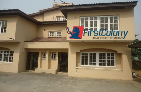4 Bedroom Semi-Detached Duplex for Office or Residential Use
