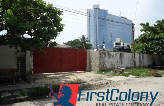 2600sqm Fenced Land for Commercial Use