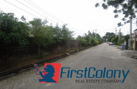 2300sqm Fenced Residential Land in Serene Area