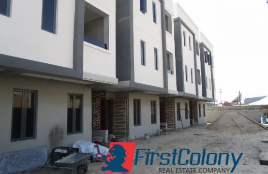 4 Units of Newly Built 4 Bedroom Terrace Duplex on Large Grounds